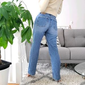 VTG Cut Gap Blue Jeans